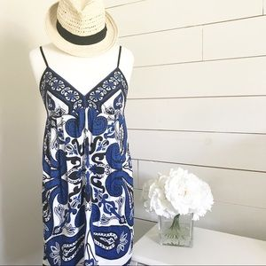 Dresses & Skirts - Trulli • Blue and Black Paisley Sundress